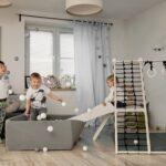 Domowe place zabaw – świetne rozwiązanie na długie jesienno-zimowe wieczory